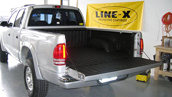 LINE-X Bedliner Spray Truck Accessory Shop Hudson WI New Richmond